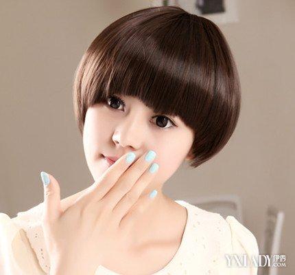 女宝宝蘑菇头发型 小孩蘑菇头发