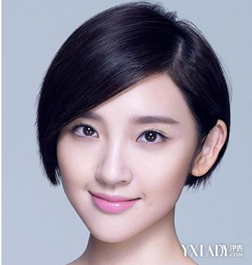【图】短发拉直发型图片2018女生版 清新短直发颜值倍增图片