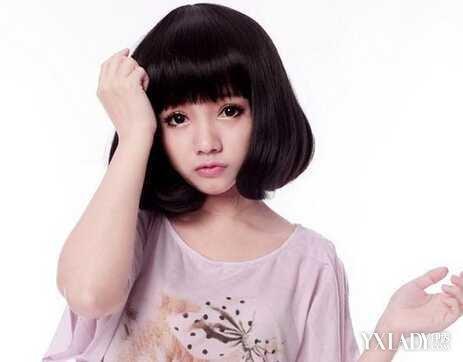 【图】推荐5款内扣短发梨花头 清新女生首选发型
