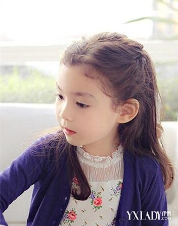 【图】有什么小女孩中长发发型 推荐5款漂亮的发型图片