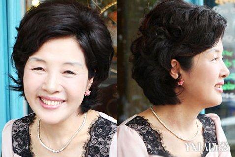 50岁女人短发发型 让你瞬间变年轻图片