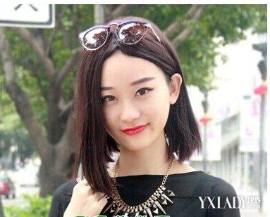 额头大脸大的女生适合什么发型 轻松瘦脸打造女神