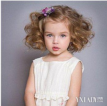 【图】2岁女宝宝扎短发发型 变身可爱小公主图片