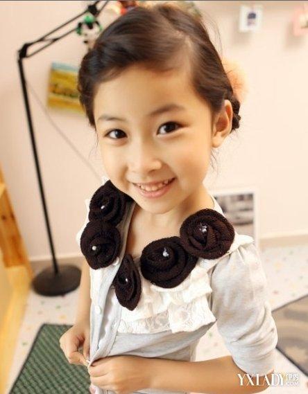 【图】小女孩编造型好看可爱活泼的辫发编发小孩辫子发型个性图片