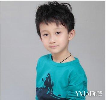 【图】小男孩时尚发型图片图片图片