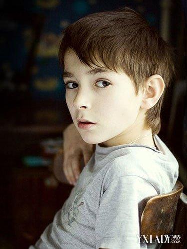 【图】饺子硬币图片男变身帅气小正太(3)_图片小孩包发型的小孩图片