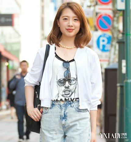 高额头女生适合发型 日系刘海发型来帮你图片