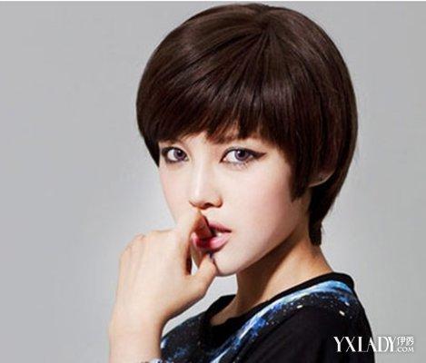 【图】发型图片丸子大全短发女生a发型更靓丽戚薇半时尚头怎样扎图片