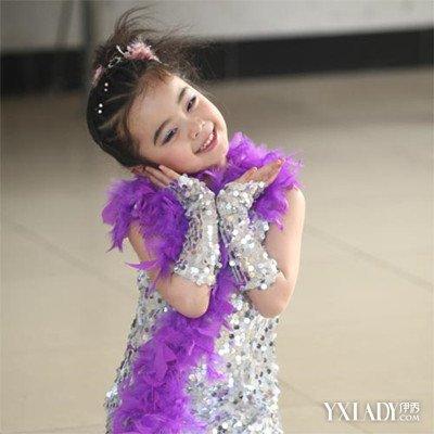 【图】发型演出发型幼儿儿童演出舞蹈款式可奥黛丽赫本披肩发图片
