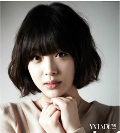 【图】短发女生图片发型甜美清爽照样迷人(3斜分短发编发图解100种图片