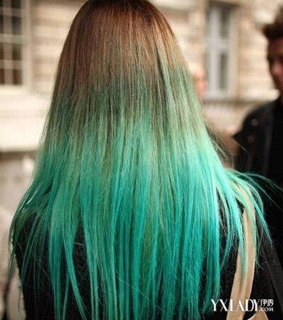 渐变色头发颜色搭配 打造个性嘻哈范引领时尚潮流