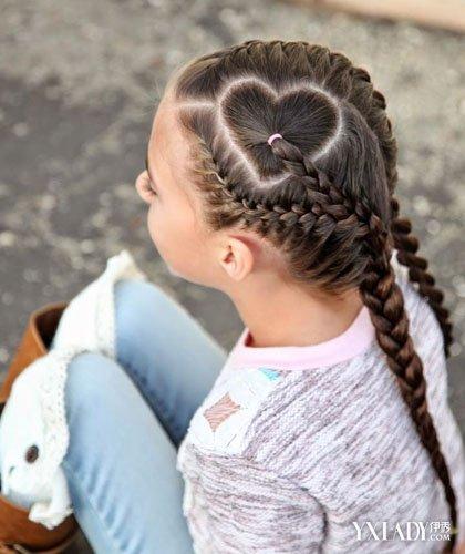 【图】儿童发型女孩编发图片