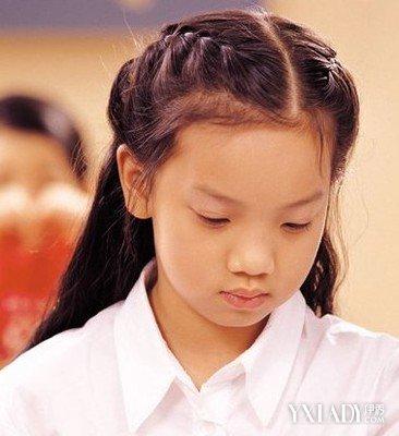 女宝宝发型绑扎方法 教你5大发型绑扎方法图片