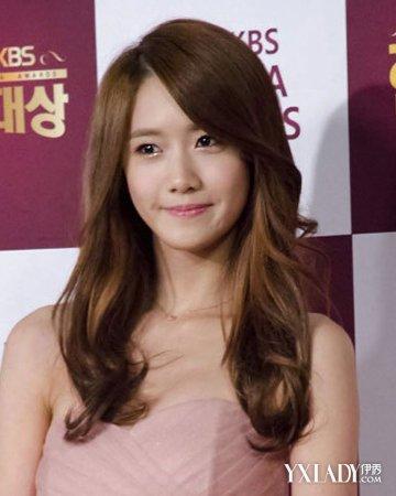 【图】了解韩式中长发烫发发型