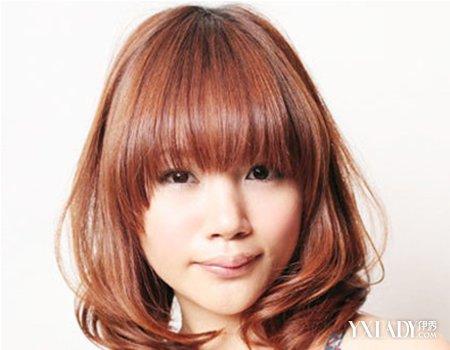 杏仁脸适合什么发型女分享展示图片