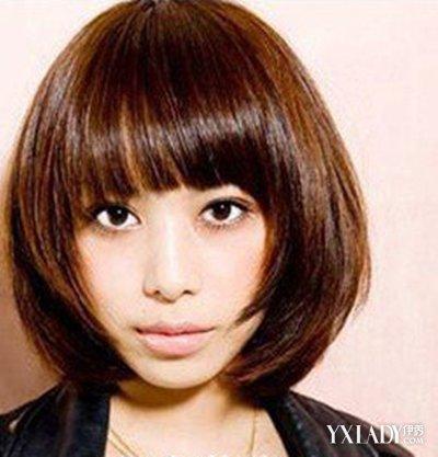 女生刘海发型齐刘海蘑菇大全头发型可减短发的年龄好听发型师短发名字图片