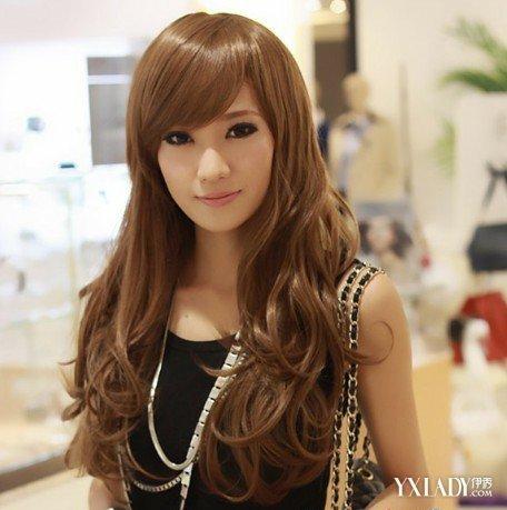 【图】头发图片面的颜色女夏季选暗系发色打三股辫侧大全编发视频图片