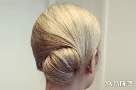 夏季发型中长发盘发 欧范简单盘发发型图片图片