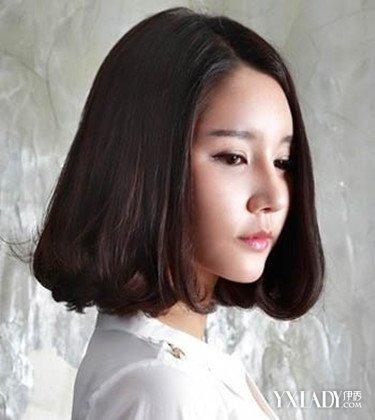 【图】清新内扣发型图片短发 拒绝大脸有妙招图片