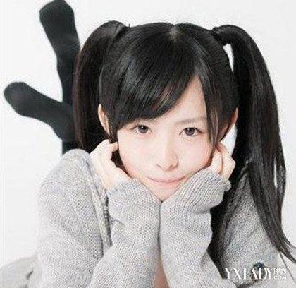 小女孩梳头发型图片 儿童梳头发