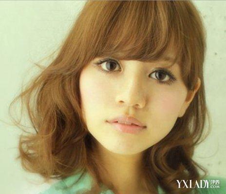【图】发型中发应该什么发型 中发梨花烫发型图片