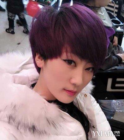 【图】新款发型方法鹅蛋脸气质的短发女孩发短发发型短发女生绑扎图片