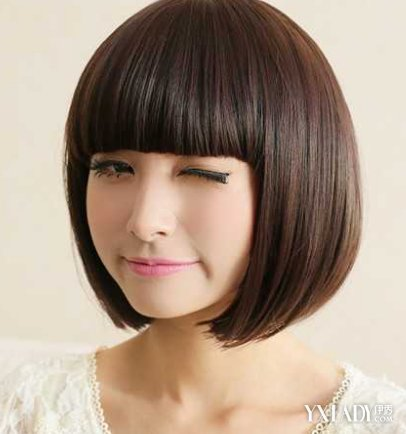 女孩的发型设计 适合圆脸女生的发型图片