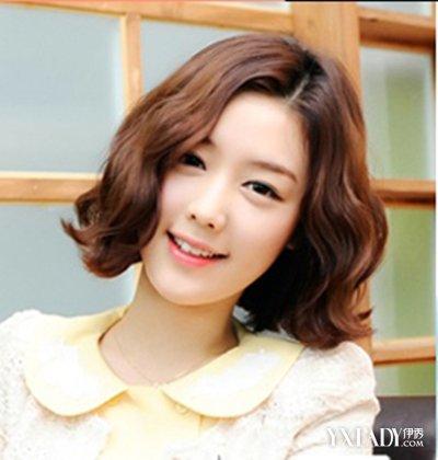 【图】短发烫发发型2015韩式小清新 中短卷发