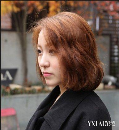 【图】韩版短发烫发发型短发与a短发并行_韩版时尚烫发俏皮图片