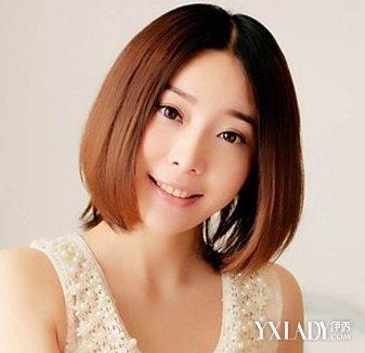 【图】齐肩内扣梨花烫发型 打造小颜瘦脸