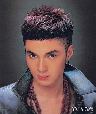 【图】男生两边掏空发型 5款让你清新帅气图片