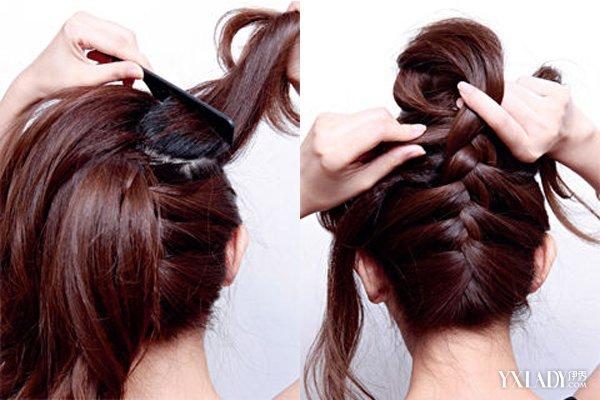 自己能编的简单发型 轻松打造甜美气质