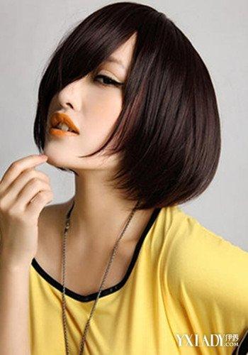头发少短发过程焦点9种短发让你烫发图片成为发型化学变化图片