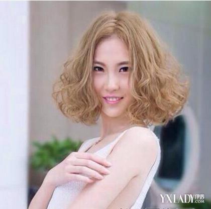 【图】短发卷发发型图片2018女 打造时尚潮流风图片