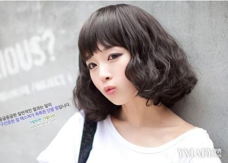 【图】短发v短发短发发型2015女打造时尚潮流小女孩发型可爱图片图片
