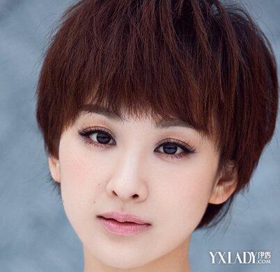 【图】大全女生短发发型教你变身俏皮短发(3美女韩式三七分发型发型男图片