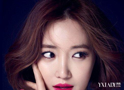 【图】韩国发型女星图片20152015韩国圆脸都短发发型适合的烫胖人女图片