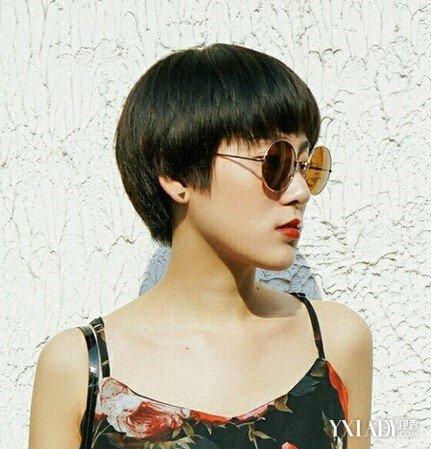 齐耳短发发型图片2018女 干练短发让你清爽过夏天图片
