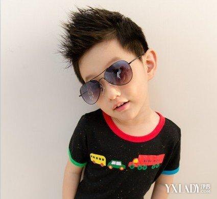 宝宝帅气发型男孩图片图片