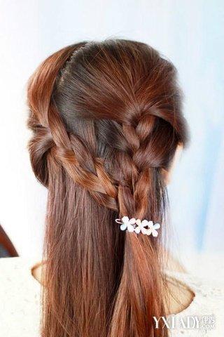 【图】三款简单自己可以编的发型 三分钟塑造小女神