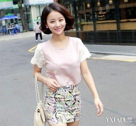 【图】短发微卷发型图片 韩式短卷发瘦脸时尚发型图片