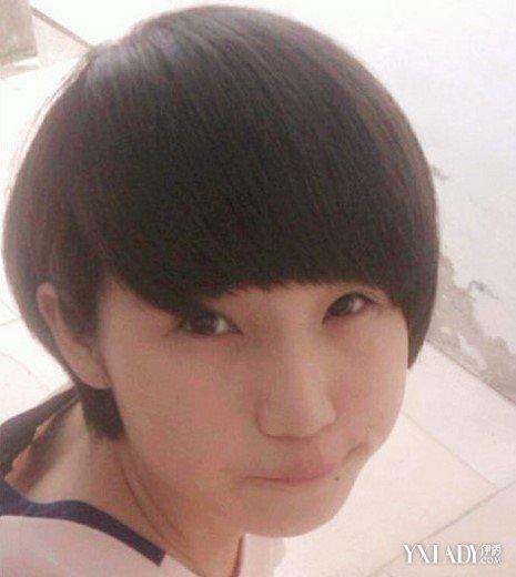 【图】女生短发发型不烫不染图片