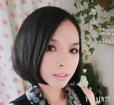 【图】女生短发发型不烫不染 透露丝丝简单的清纯图片