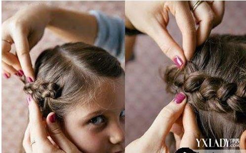【图】小公主发型扎法图解 半扎公主头最淑女