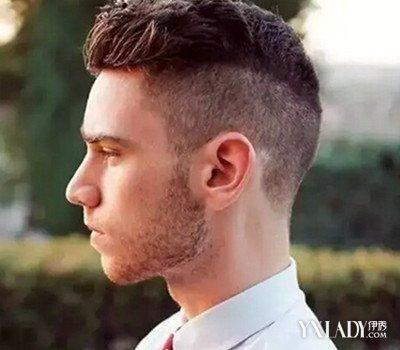 男生两边剃光圆寸短发发型图片