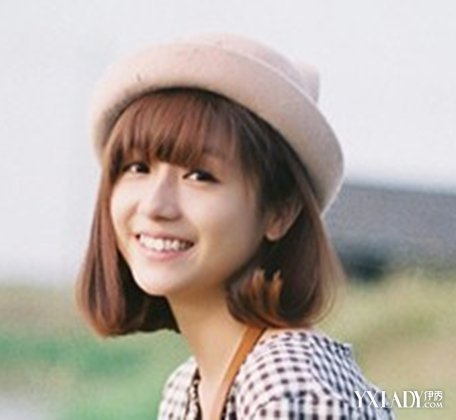 【图】六组韩式齐刘海短发发型 甜美减龄萌感十足