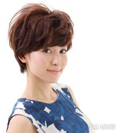 【图】小卷短发烫发发型图片 突显别样日式风