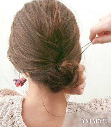 中长发型扎法 教你打造优雅发髻