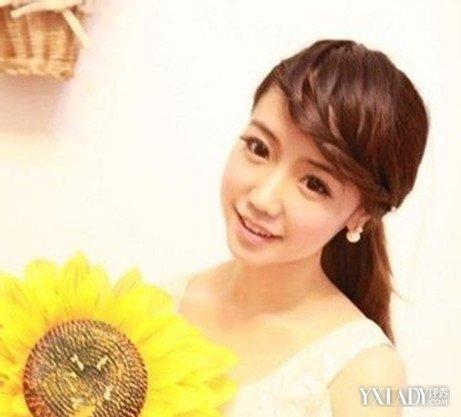 【图】编刘海图片教你刘海编发型发型扎法(3短辫子长后前