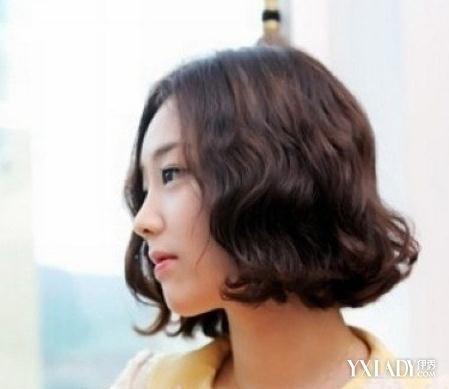 方便面卷发发型图片 夏季流行
